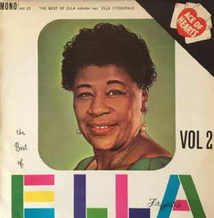 Ella Fitzgerald ‎- The Best Of Ella Fitzgerald Vol 2 (LP) (EX/VG)